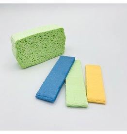 Kliin Organic Inc. Biodegradable Cellulose Sponge