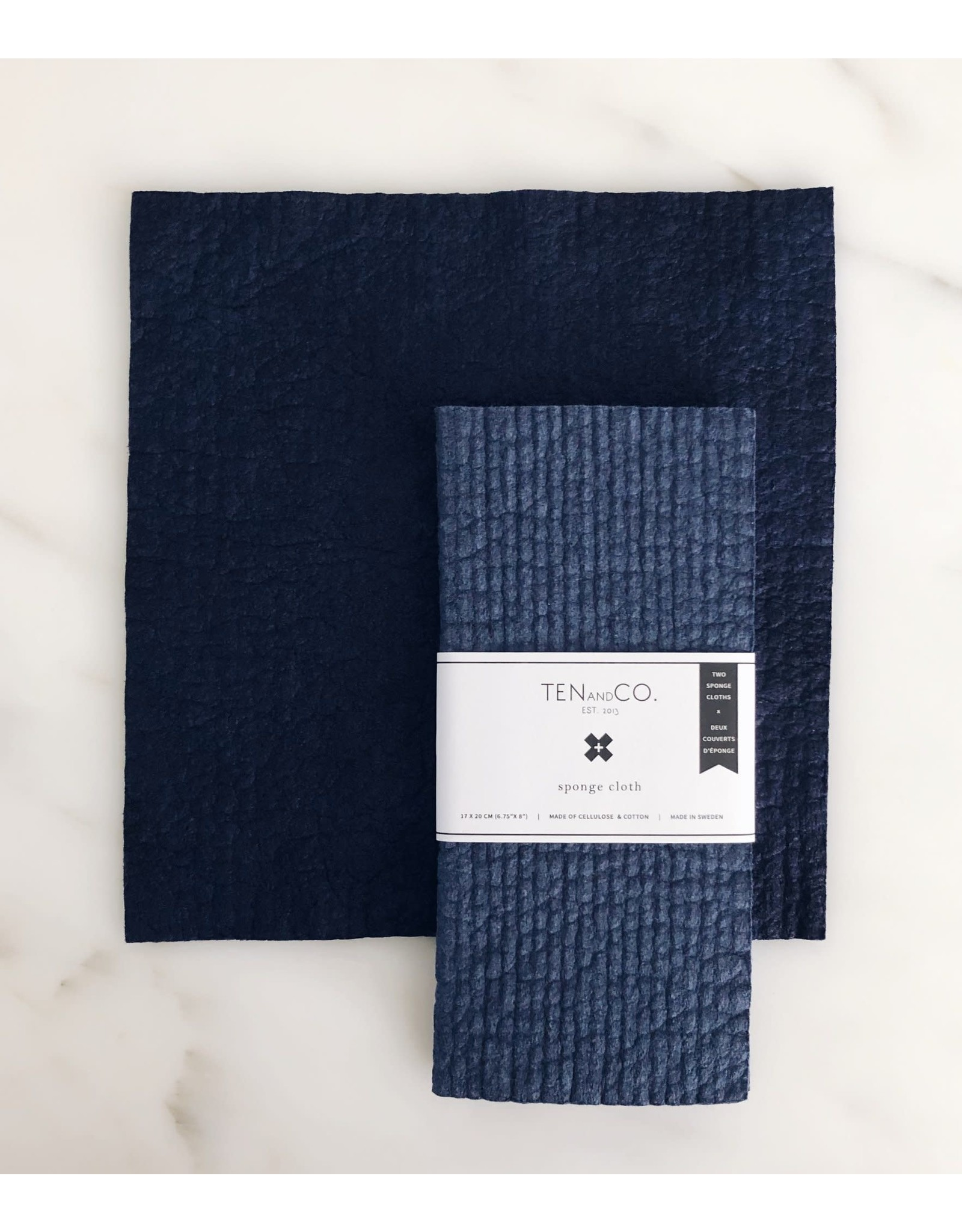 Ten & Co. Swedish Sponge Cloth, 2-Pack