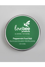 Lovebee Foot Rub Peppermint by Lovebee Products