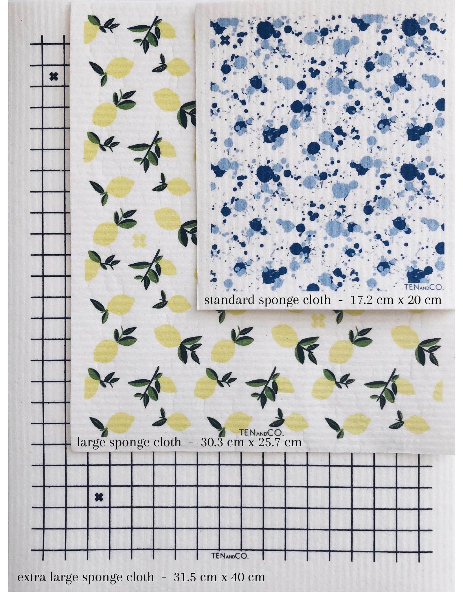 Ten & Co. Swedish Sponge Cloth, Extra-Large
