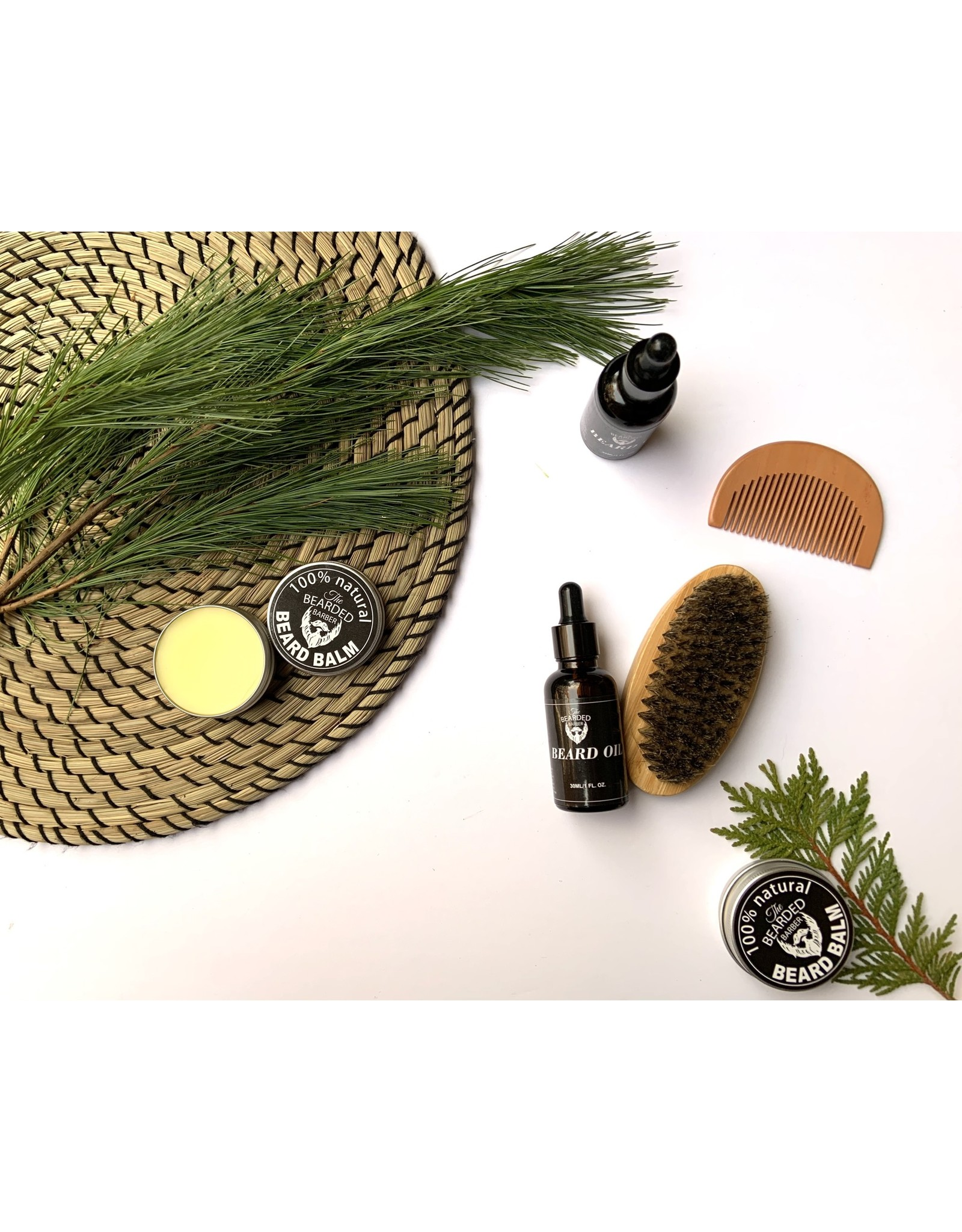 The Bearded Barber Beard Grooming Kit