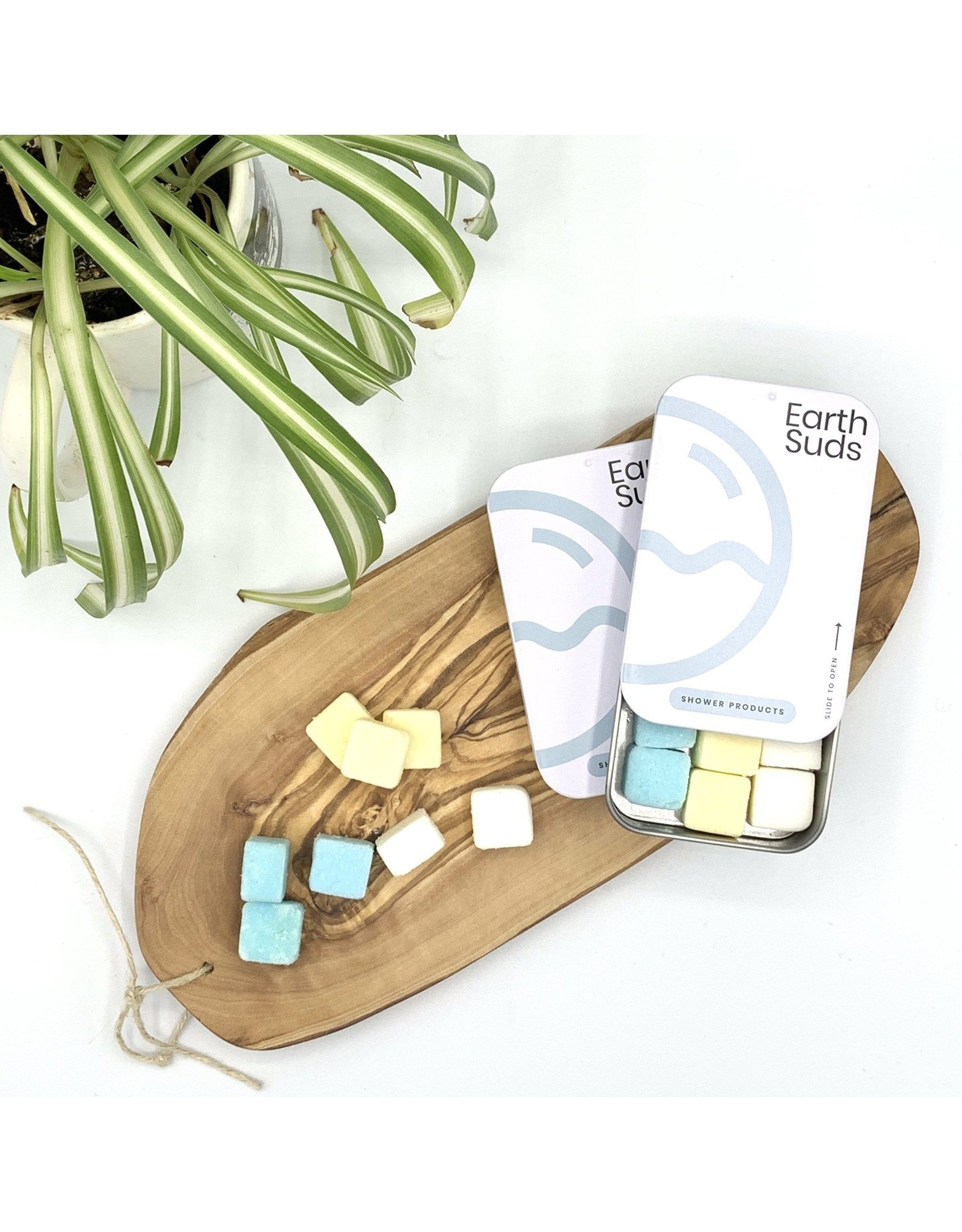 Earth Suds Shower Care Tablets in Travel Case