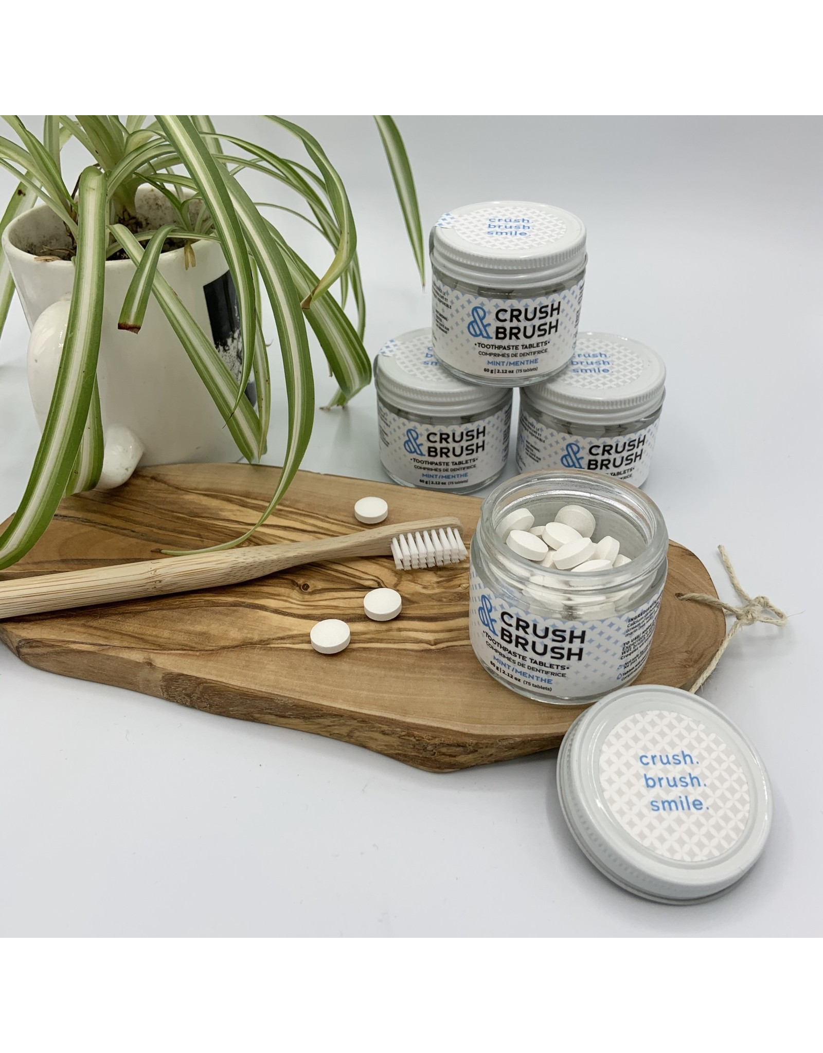 Nelson Naturals Toothpaste Tablets by Nelson Naturals Crush + Brush