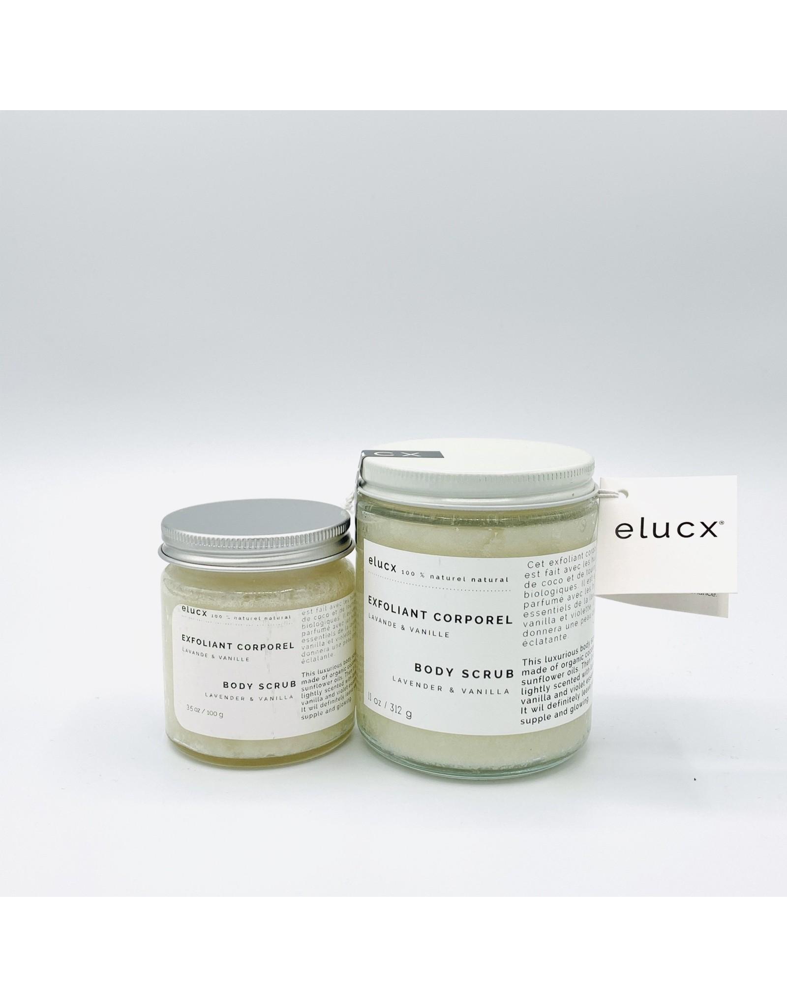 Elucx Lavender Vanilla Body Scrub by Elucx