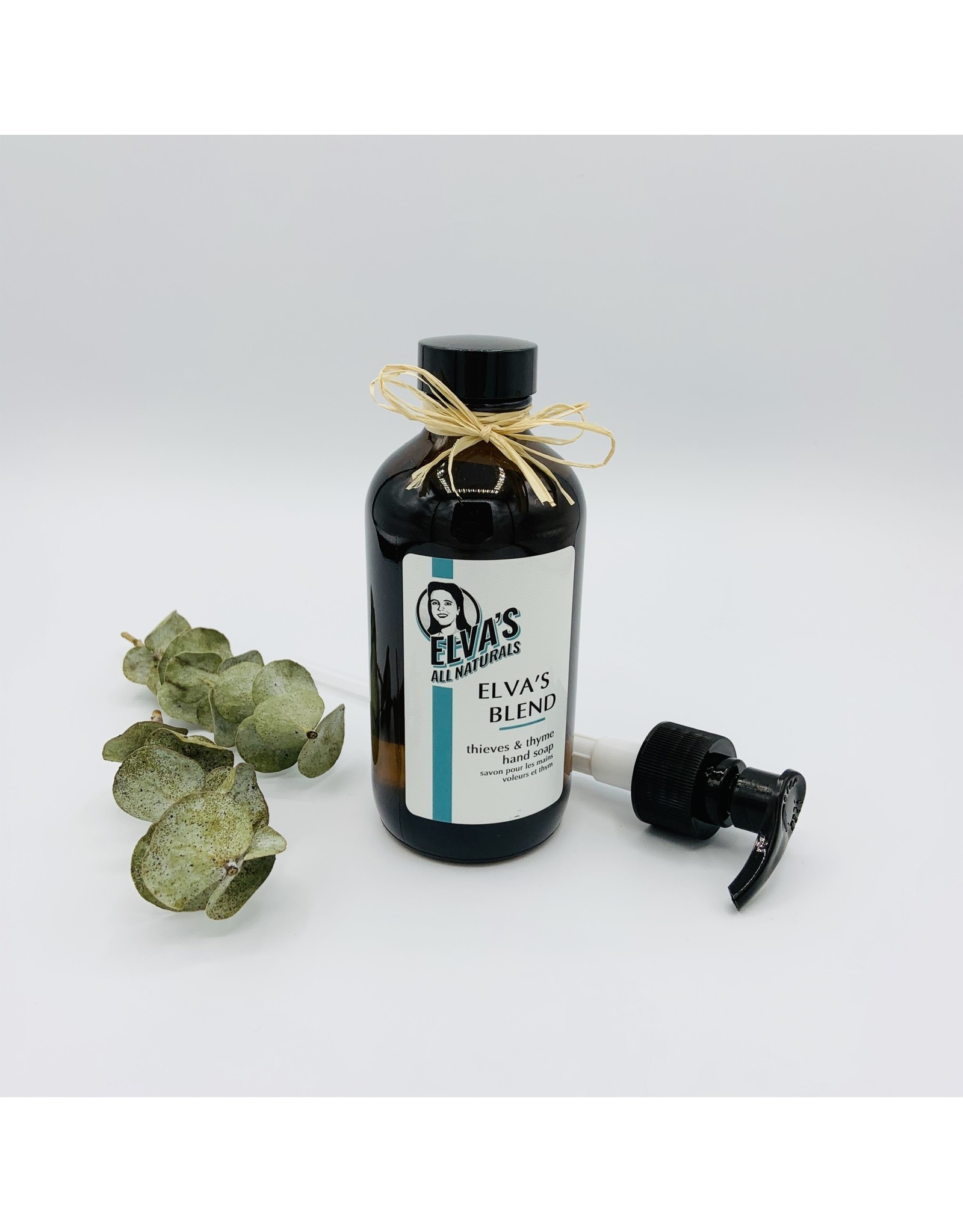 Elva's All Naturals Thieves & Thyme Herbal Hand Soap by Elva's All Naturals