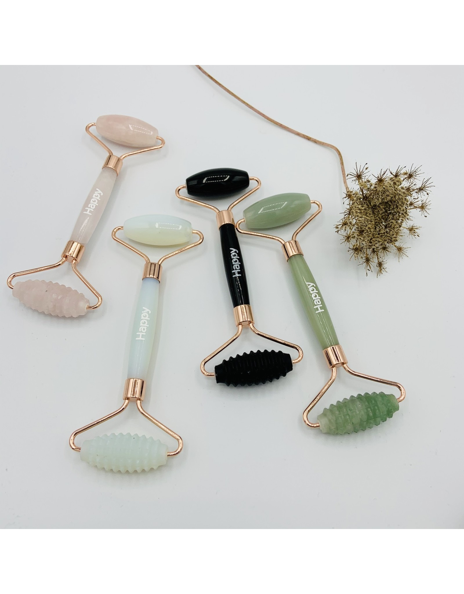 Happy Natural Products Duo Texture Facial Massage Roller