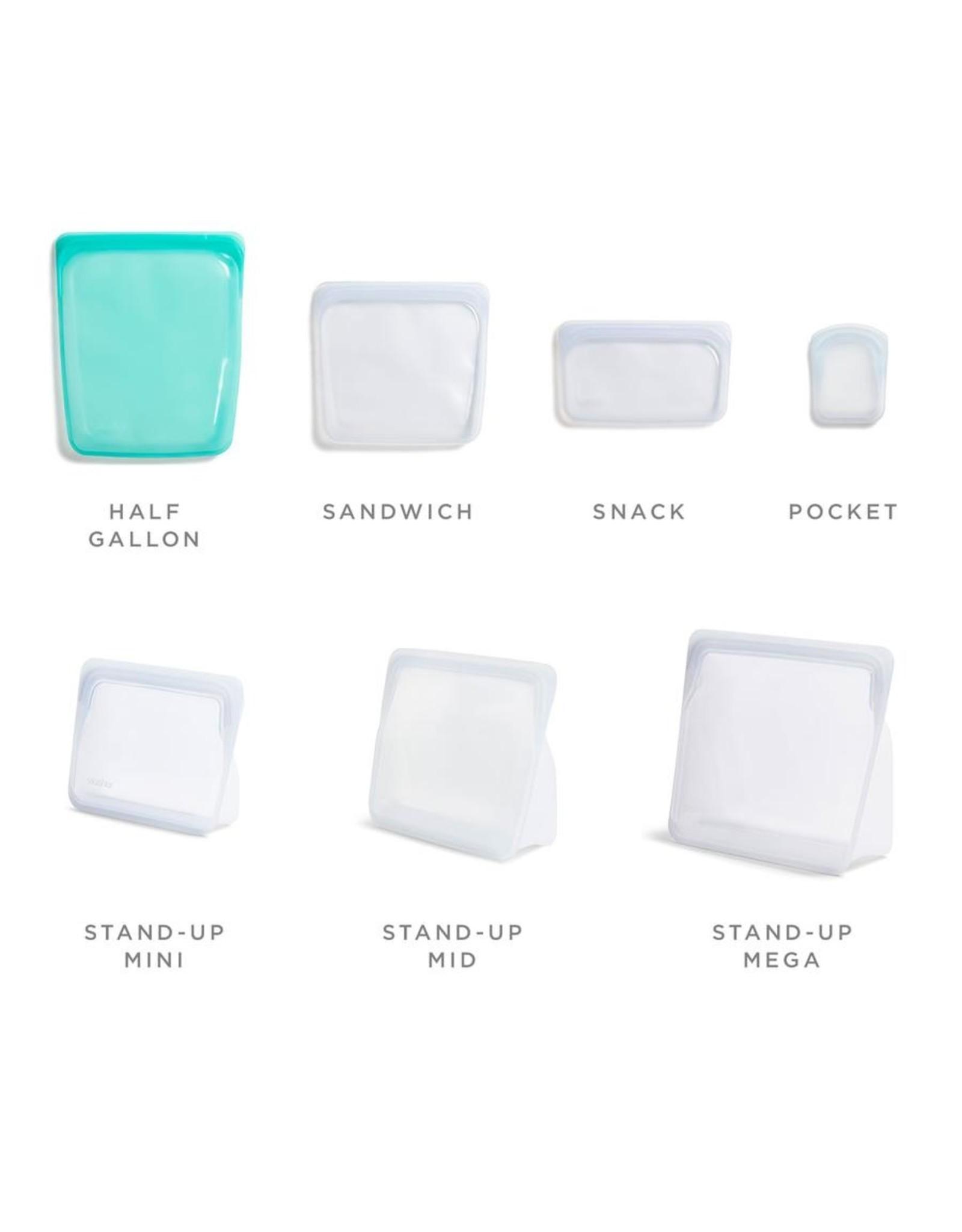 Stasher Reusable Silicone 1/2 Gallon or Sous Vide Storage Bag
