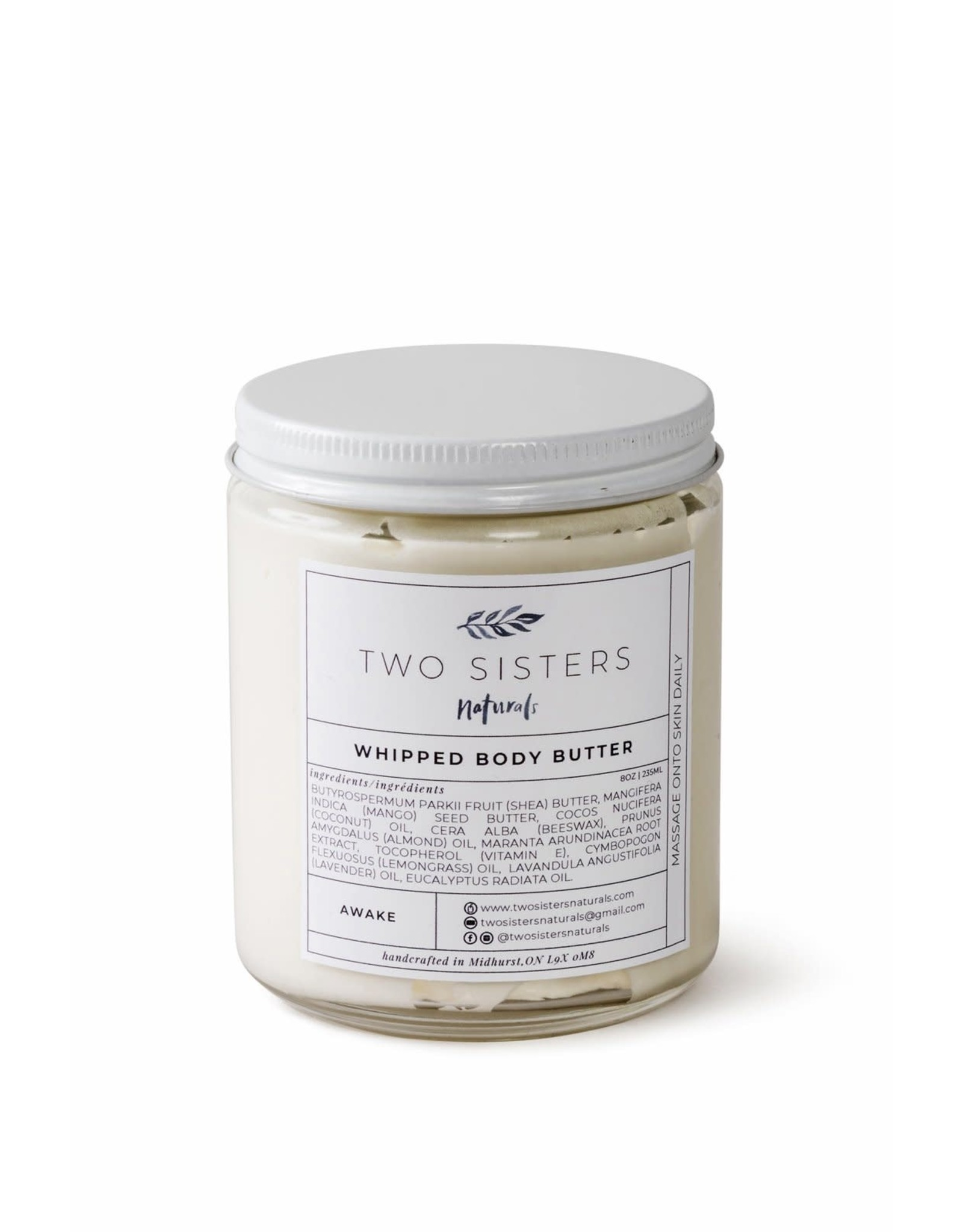 Two Sisters Naturals Whipped Body Butter by Two Sisters Naturals