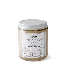 Two Sisters Naturals Peppermint Body Scrub by Two Sisters Naturals