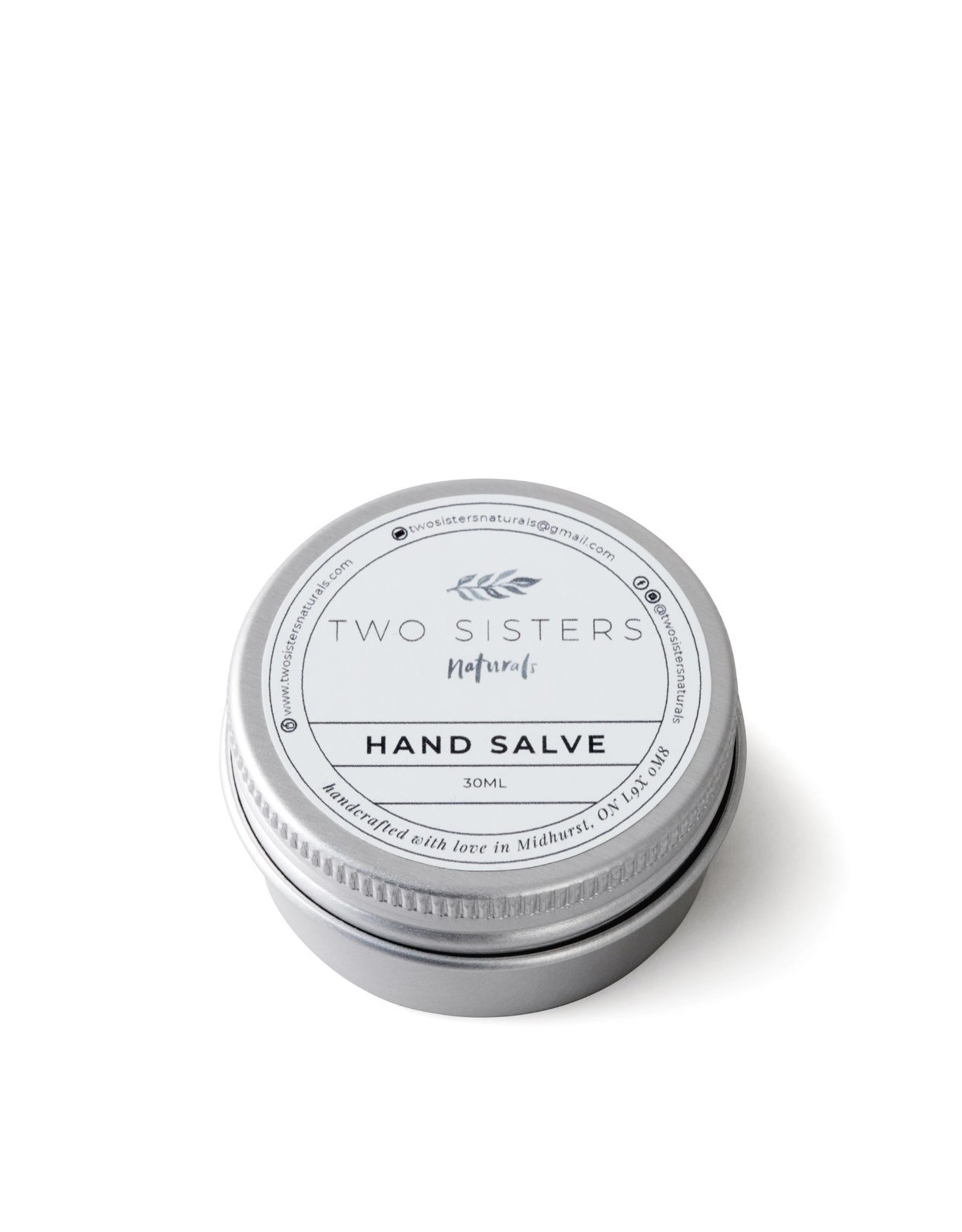 Two Sisters Naturals Hand Salve