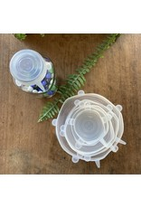 Silly Lids Reusable Silicone Stretch Lids - 6-Pack