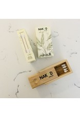 NakedSwab NakedSwab Silicone Swabs, Bamboo