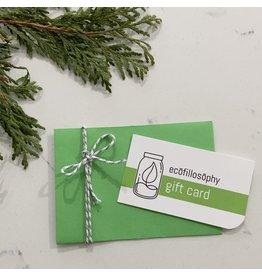 EcoFillosophy EcoFillosophy Gift Card