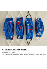 Reusable 3D Cloth Mask