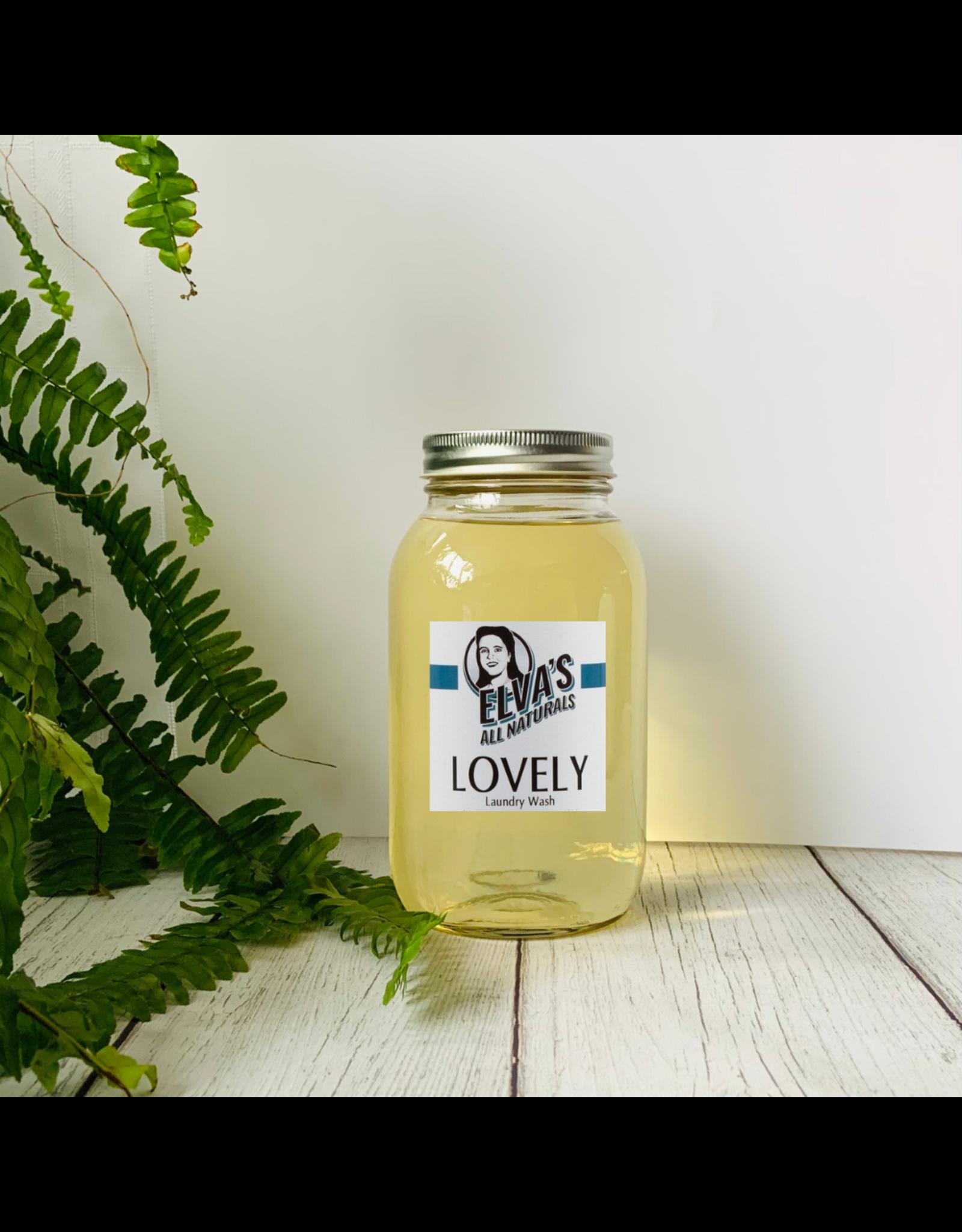 Elva's All Naturals HomeFill - Liquid LOVELY Laundry Detergent by Elva's All Naturals