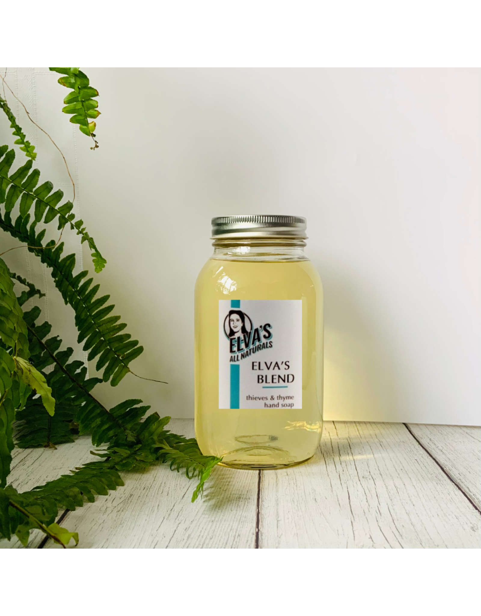 Elva's All Naturals HomeFill - Thieves & Thyme Herbal Hand Soap by Elva's All Naturals