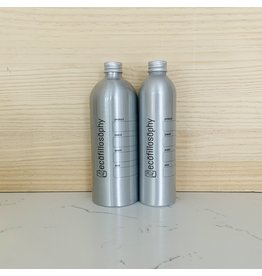 EcoFillosophy Empty Aluminum Bottle with Silver Cap