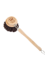 Redecker Dish Brush with Handle and Replaceable Head