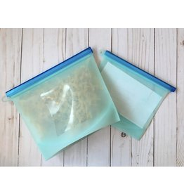Medium Reusable Silicone Food Storage Bag