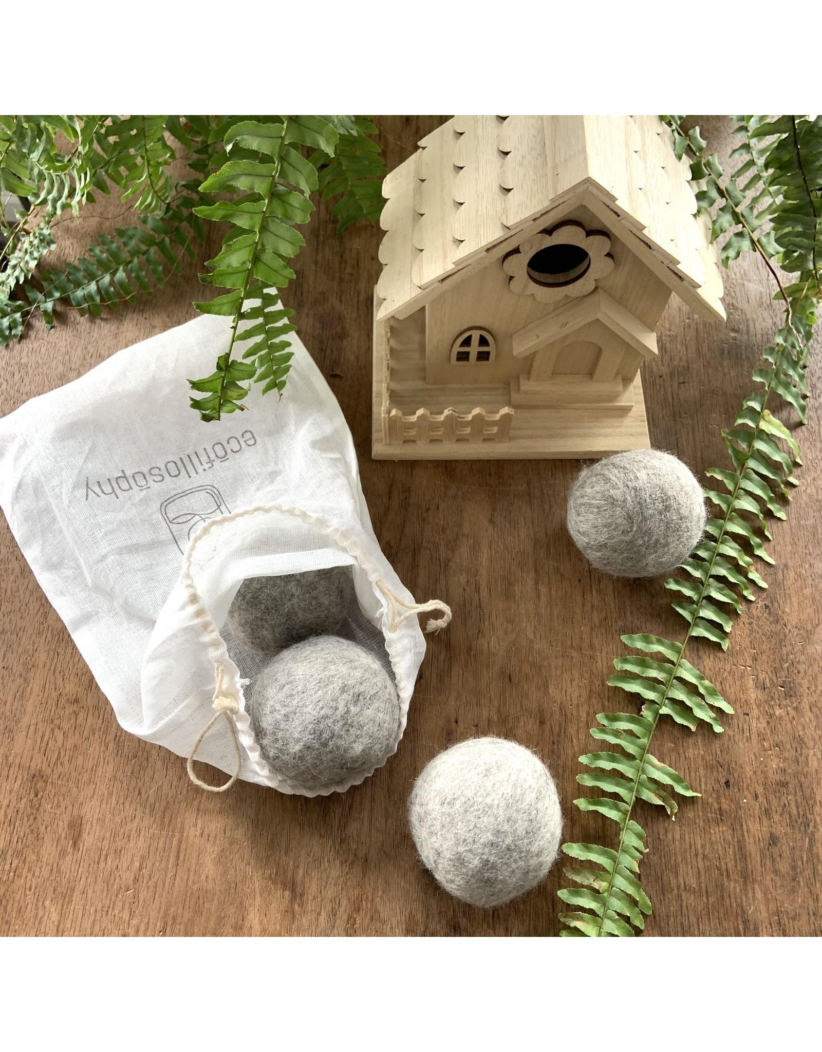 EcoFillosophy Reusable 4-Pack Dryer Balls