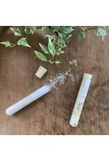 Cedar + Sunset Bath Salt in Glass Tube