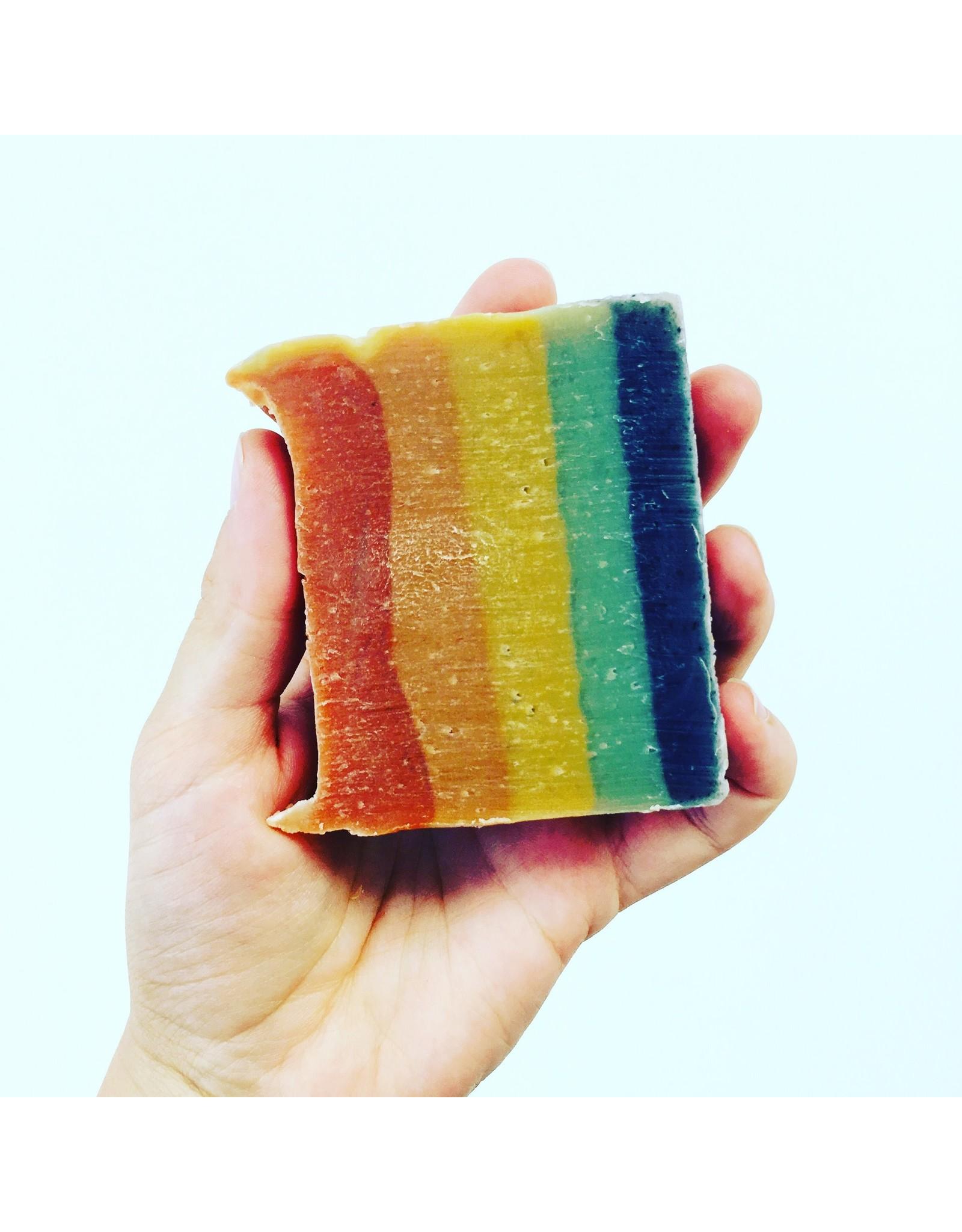 Zoe's Corner Rainbow Hand and Body Soap Bar