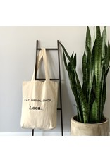 EcoFillosophy Reusable 'Kindness' Canvas Tote