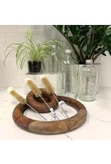 Haug Bursten Narrow-neck Bottle Brush with Soft Cotton-tip