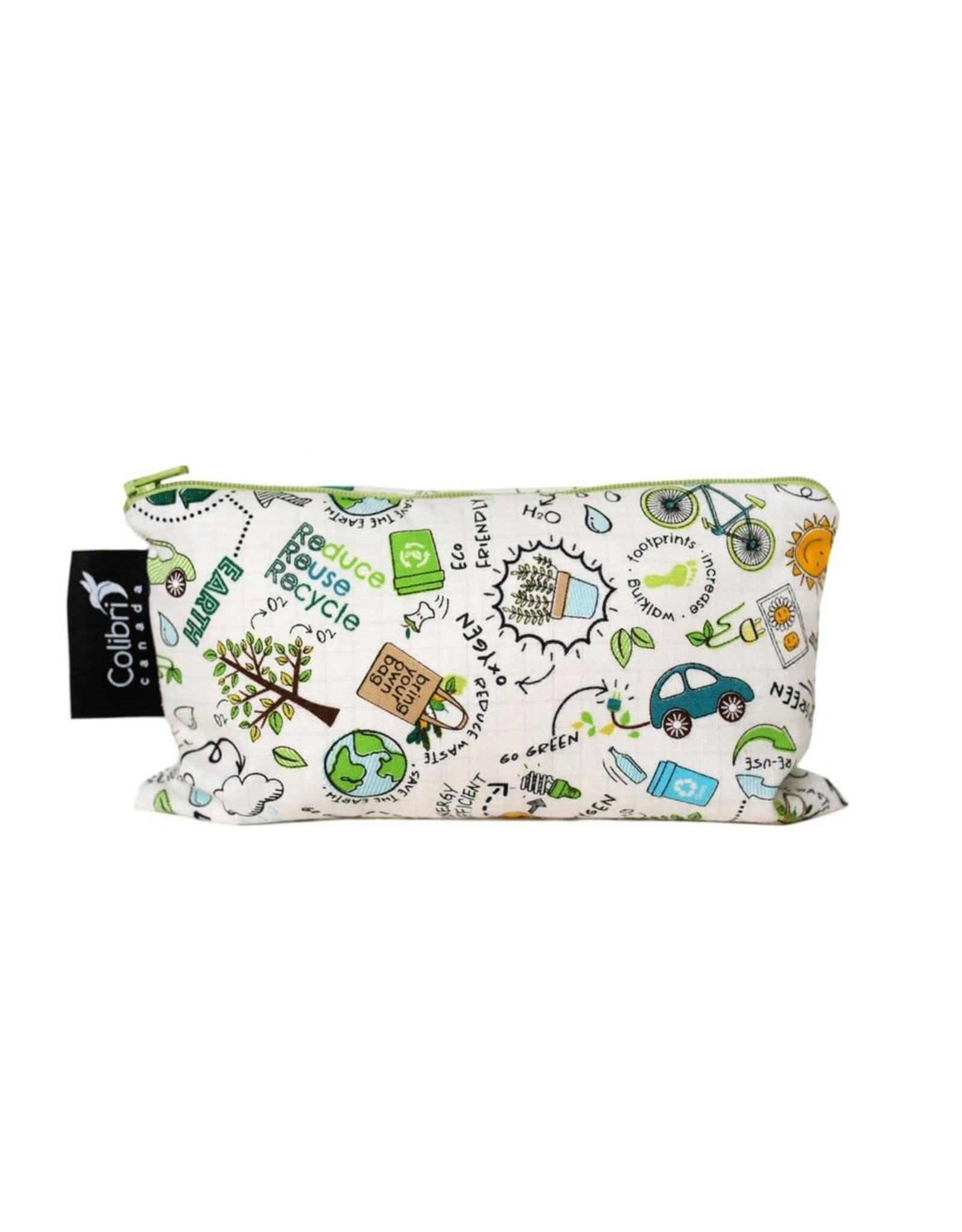 Colibri Reusable Cloth Snack Bag - Medium
