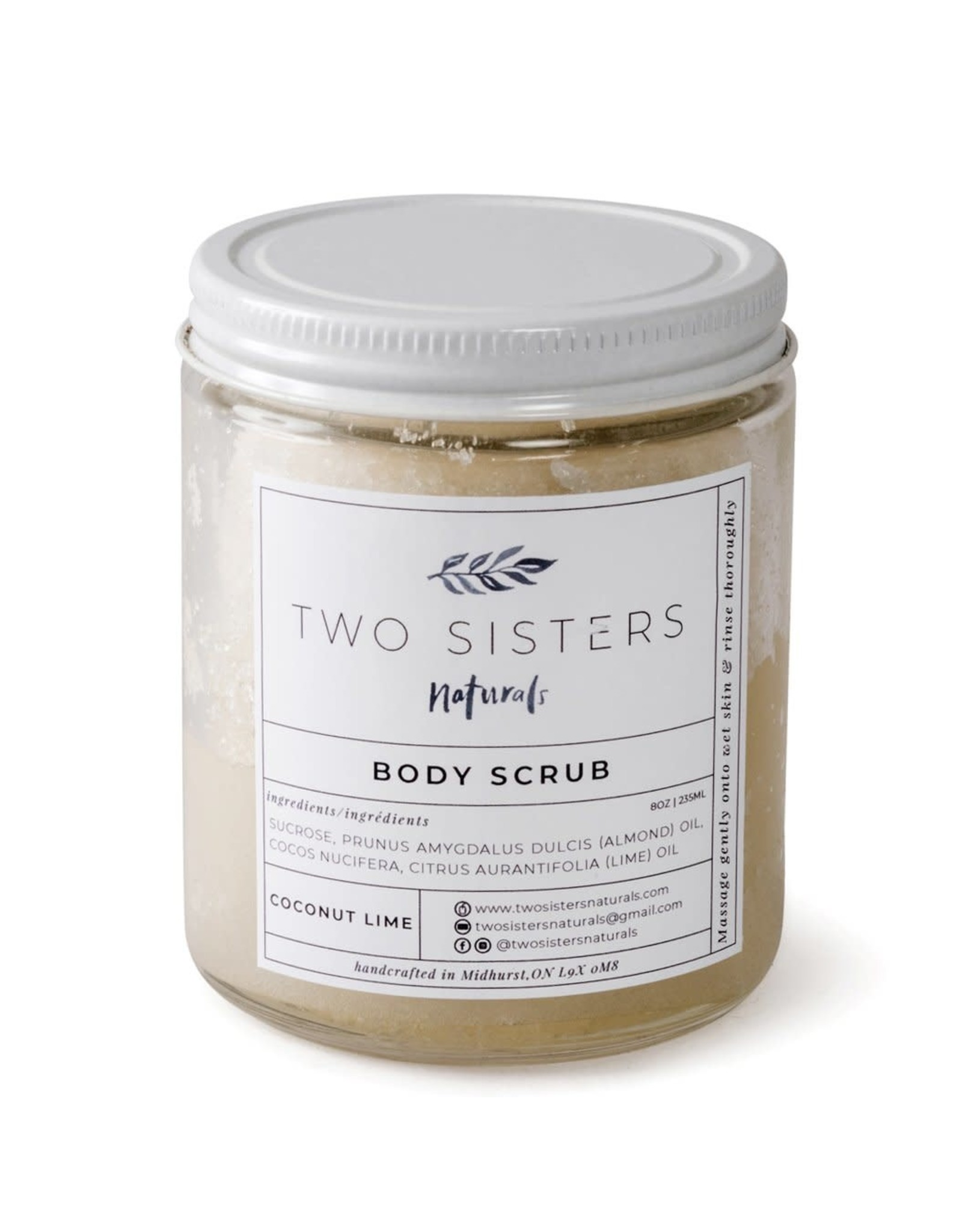 Two Sisters Naturals Body Scrub by Two Sisters Naturals