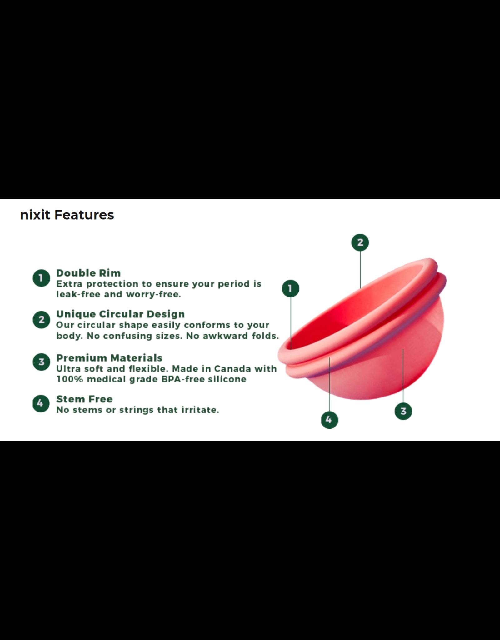 Nixit Menstrual Cup by Nixit