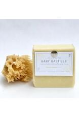 Charcoal & Rose Petals Baby Bastille Soap Bar