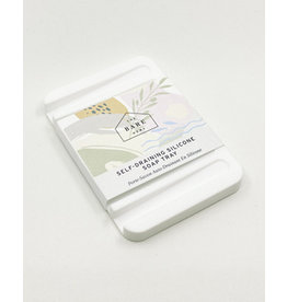 The Bare Home Self-draining Silicone Soap Tray