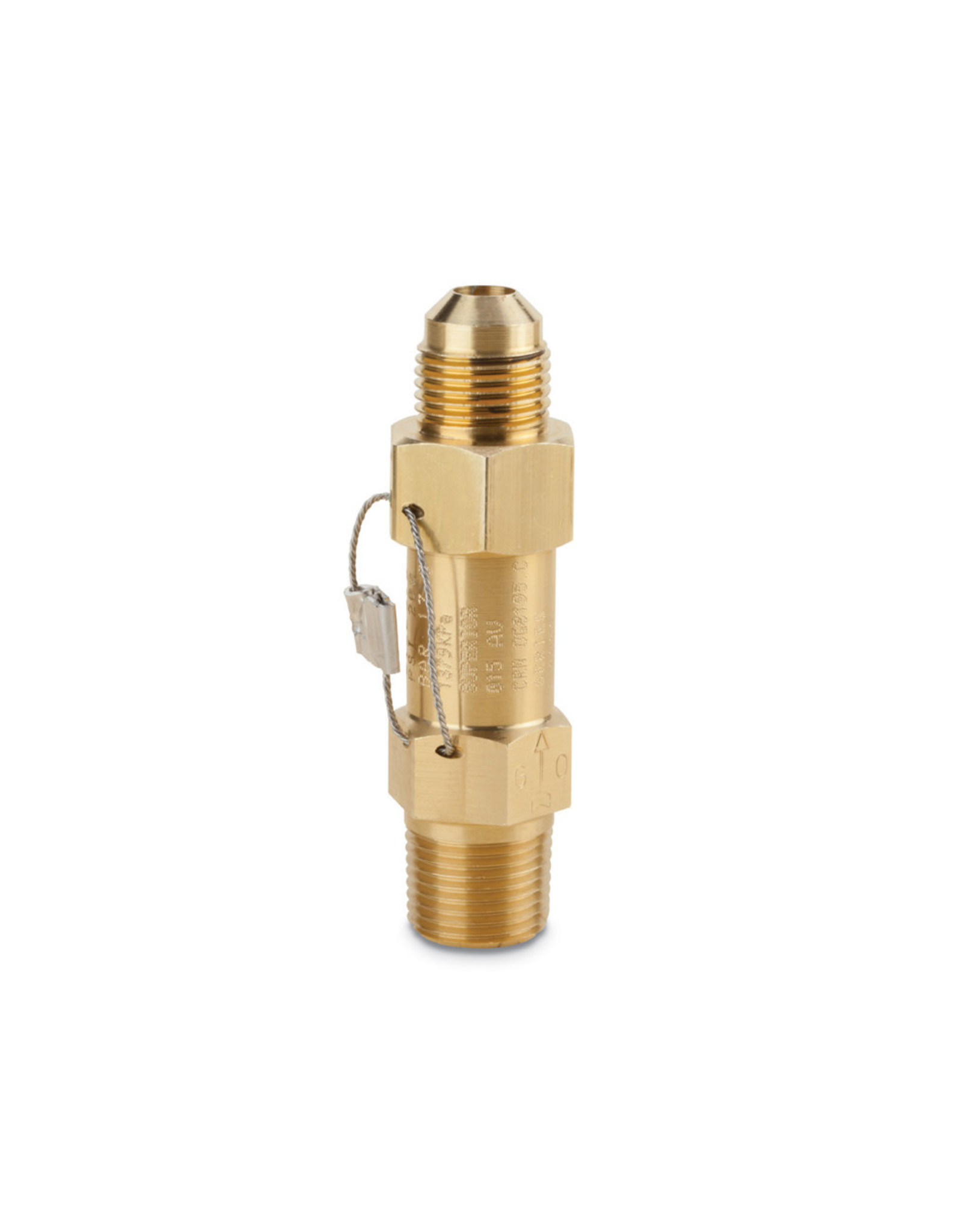 Superior HVACR Straight-Thru Pressure Relief Valves - Types 3012, 3014, 3015, 3016, 3020