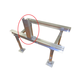 Aluminum Stands NOA Approved Electrical Box Support for I-Beam