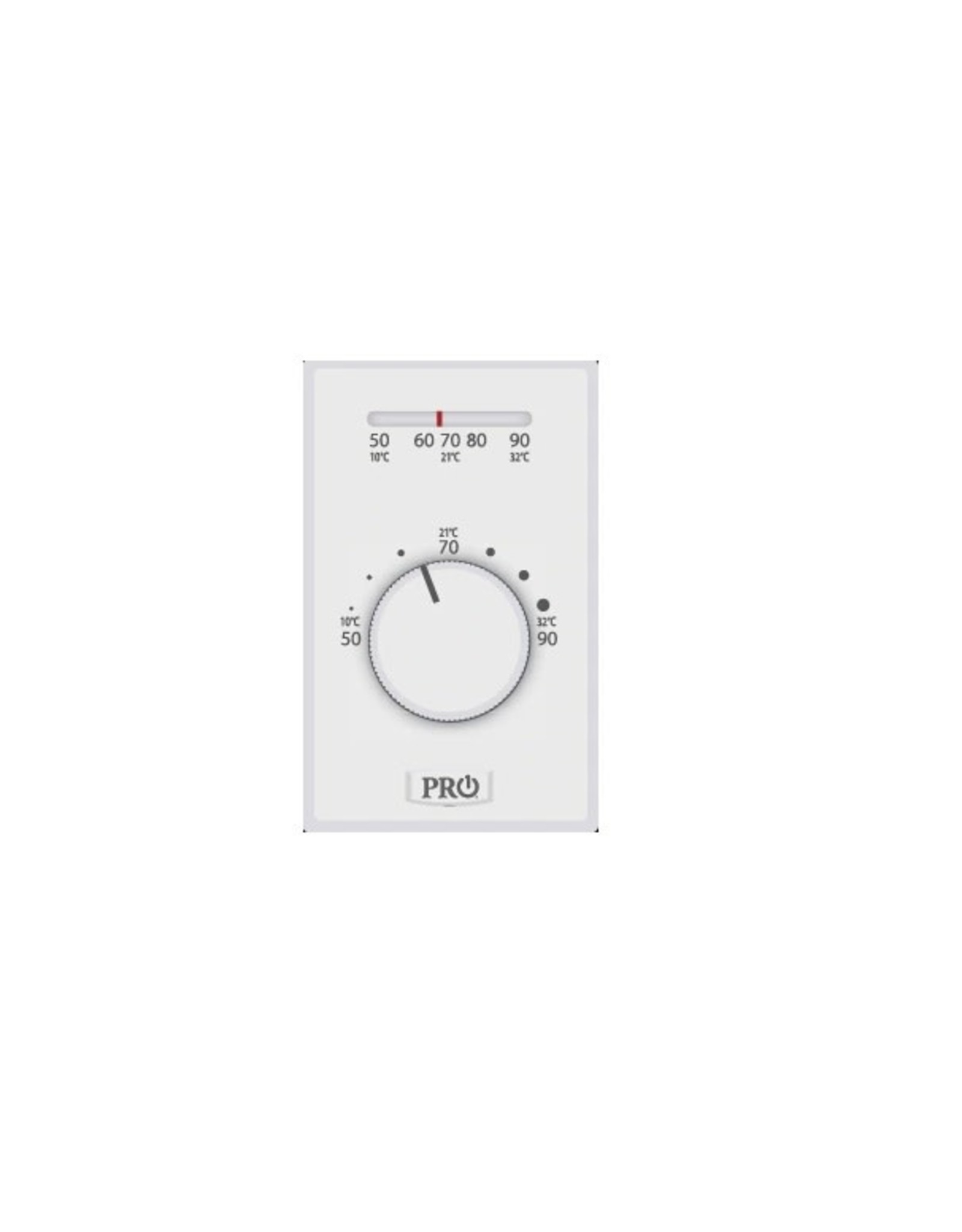Pro1 T501ML4 Mechanical Line Voltage 4 wire T-stat, Non-programmable, Heat Only