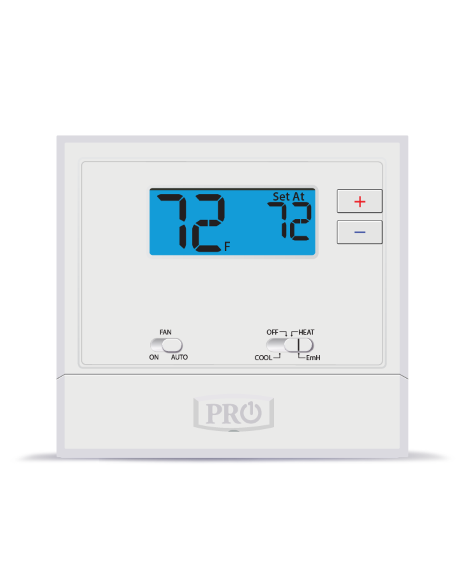 Pro1 T621-2 Non-Programmable T-stat, Heat-Pump or Conventional