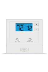 Pro1 T631-2 Wired PTAC Non-programmable T-Stat, Heat-Pump or Conventional