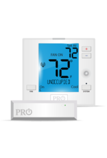 Pro1 T731WO Wireless PTAC Non-Programmable T-stat, Heat-Pump or Conventional with occupancy sensor control