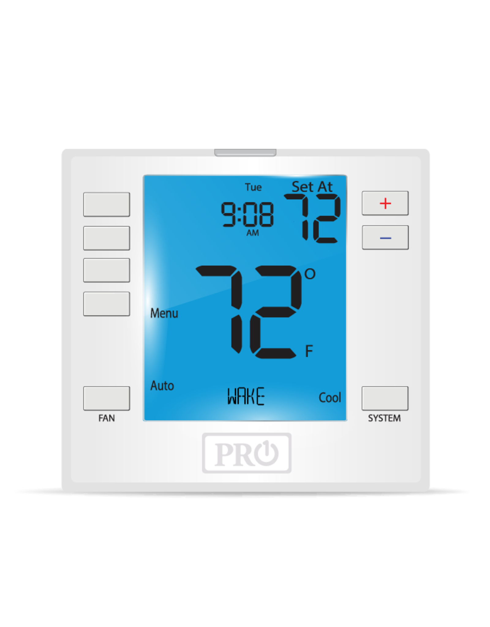 Pro1 T755S Programmable T-stat, Universal, Compatible with wired Sensors