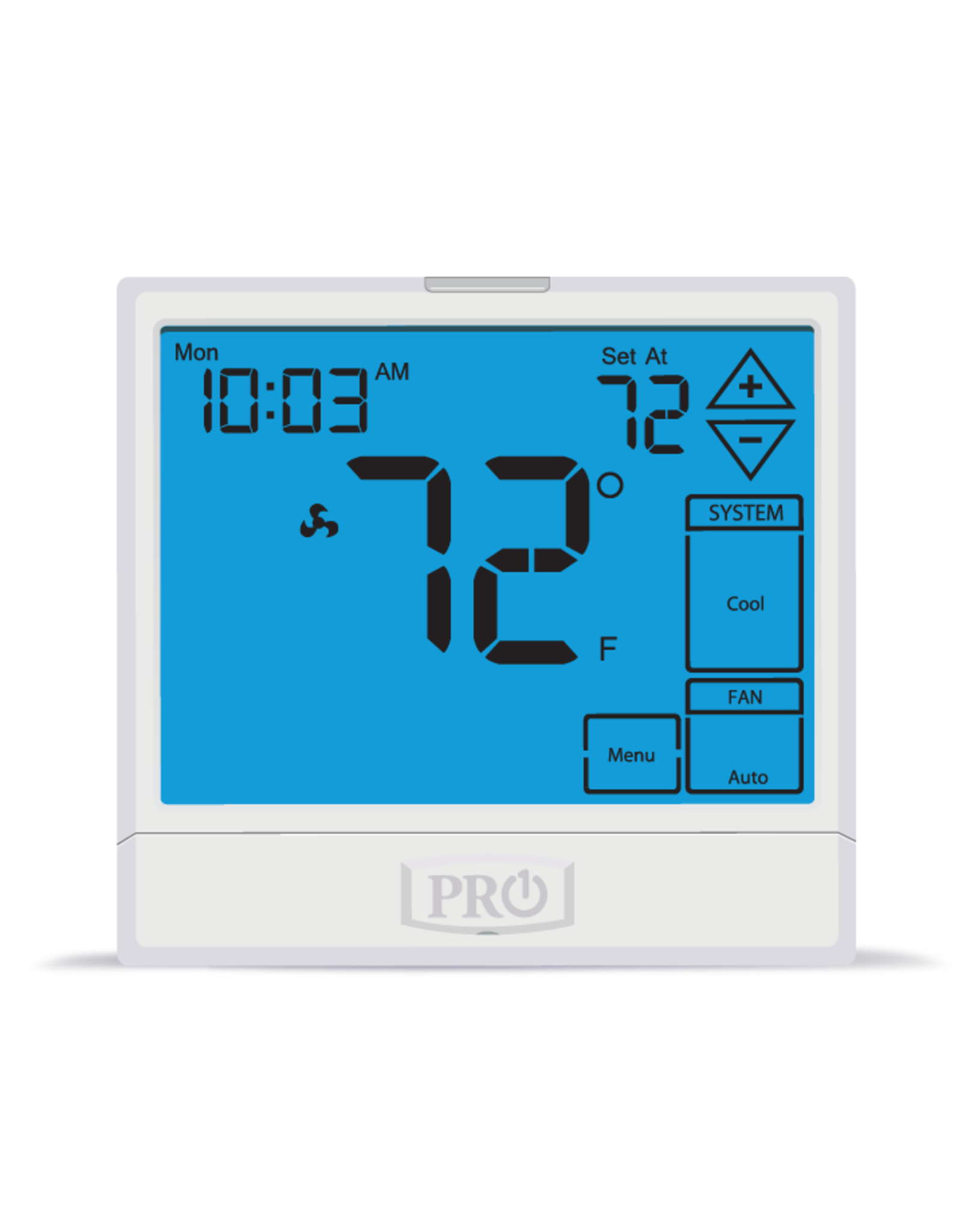 Pro1 T955S Programmable or Non-programmable Touchscreen T-stat, Universal, Compatible with Wired Sensors
