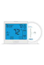 Pro1 T955WH Wireless Touchscreen Programmable or non-programmable T-stat, Universal, Compatible with wired sensors