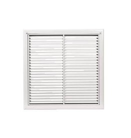 AirGuide Manufacturing LLC Return Filter Grille with 38° fixed blades