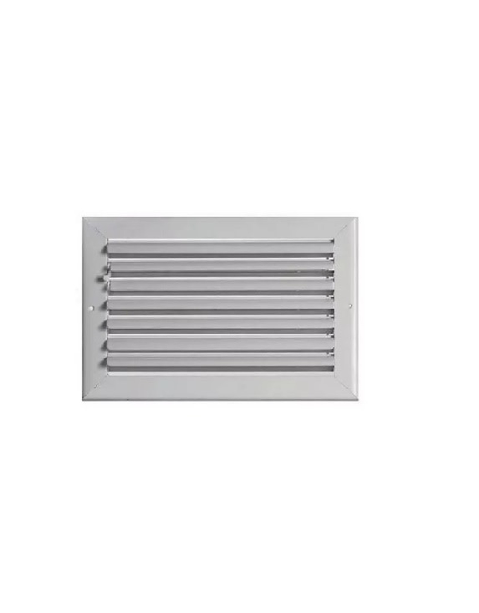 AirGuide Manufacturing LLC Curved Blade Supply Register/Diffuser with Multi-shutter Parallel Blade Damper