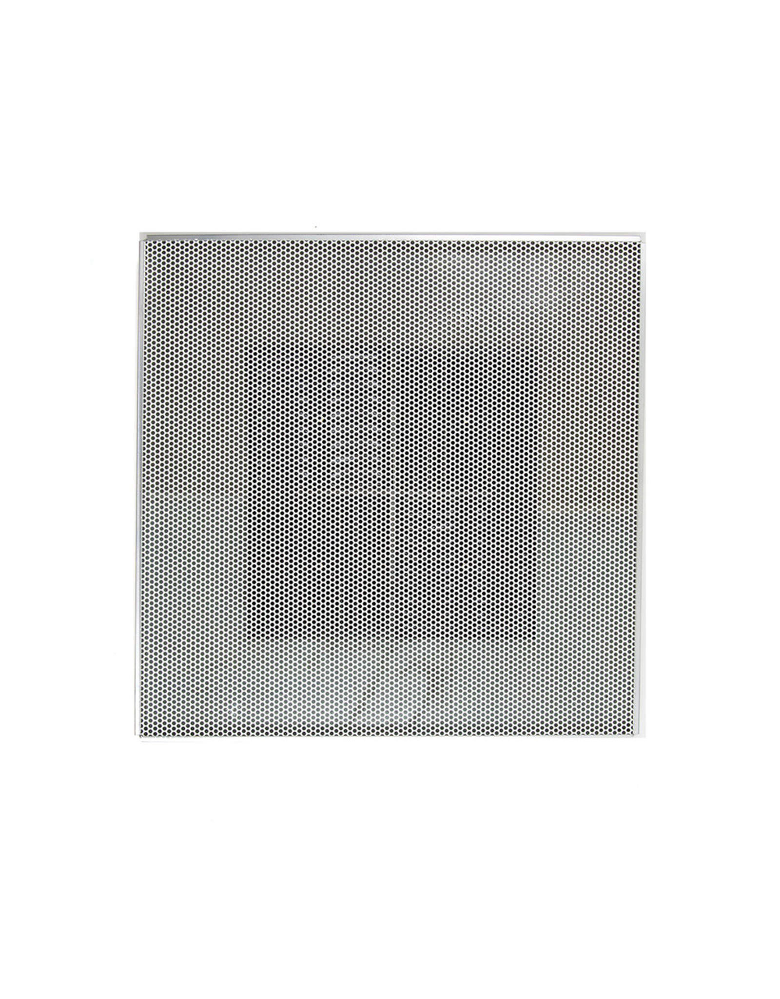 """AirGuide Manufacturing LLC Perforated Supply Ceiling Diffuser with 1"""" FOIL fiberglass back"""