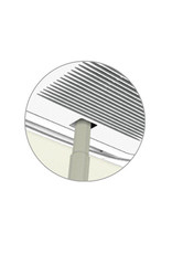 Daikin Applied Americas Nozzle for Dust Recovery for Self Cleaning Decoration Panel