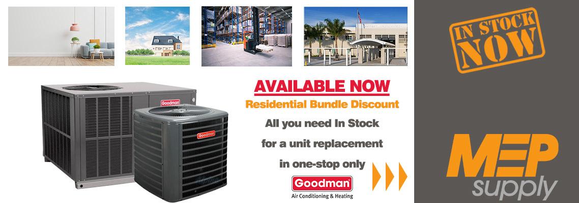 Goodman Bundle Offer