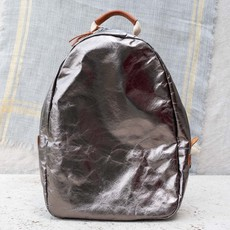 UASHMAMA UASHMAMA Memmo Metallic Backpack