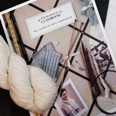 MAGPIE KNITS YARNS MAGPIE KNITS  Beginning Knitting Kit
