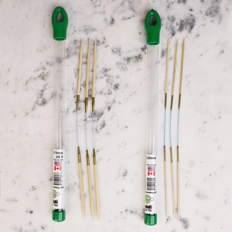 SKACEL Flexi Flips Bamboo Knitting Needles